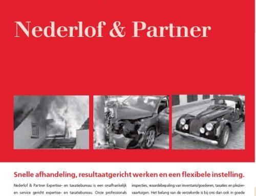 Nederlof & Partner in GA magazine van de NVGA